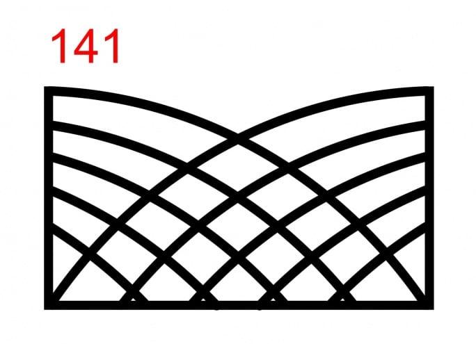 Typ 1 Ausführungen,Metallgitterausführung,Metallüberspannungen