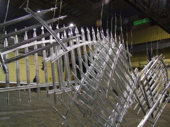 Pulverbeschichtung unserer Zäune und Geländer