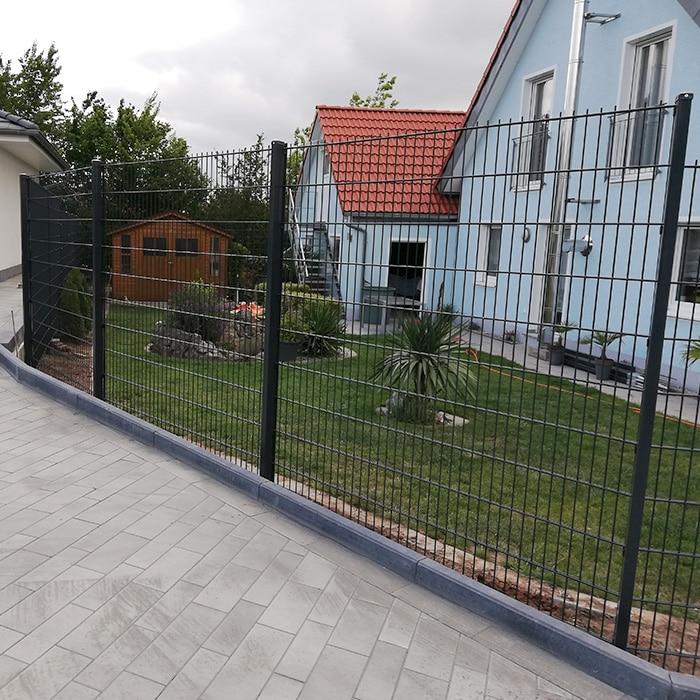 Doppelstabmattenzäune Projekte Woren-Zaun